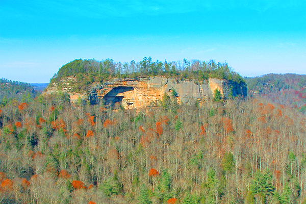 Pinch Em Tight Rock in the Red River Gorge, Kentucky