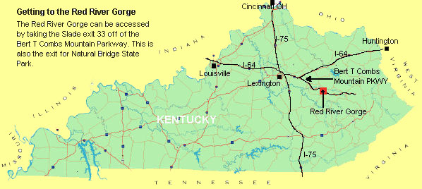Red River Gorge Maps on map of blue ridge parkway in virginia, map of bluegrass parkway, road maps of muhlenberg county ky, map of i-75 in ky, city of campton ky, map of i-65 in ky, mountain towns in ky,